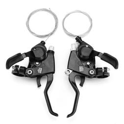1 Pair MTB Bike Bicycly Shifter ST-EF51-7 Bicycle Gear Shift