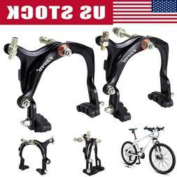 1 Pair Road Bicycle Brake Caliper Set Front +Rear Bike Side