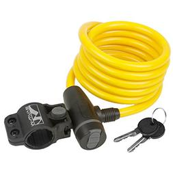 M-Wave S 10.18 Spiral Cable Lock, Yellow