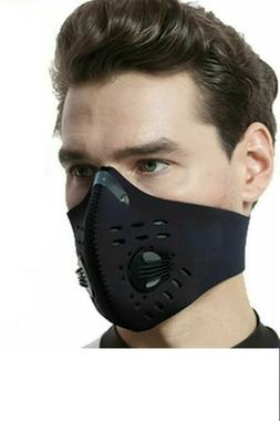 100% Neoprene Neck Strap Face Mask Athletic Running Jogging