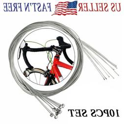 10PCS 1.95m Bicycle Bike Cycling MTB Brake Inner Wire Cable