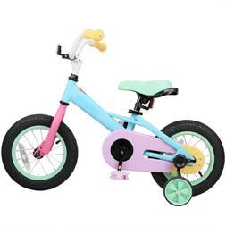 JoyStar 12 & 14 Inch Girls Kids Bike Bicycle with Quick Rele