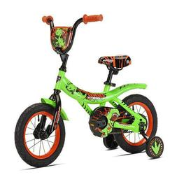"Kent 12"" Dino Power Boy'S Bike, Green, For Height Sizes 2'0"""