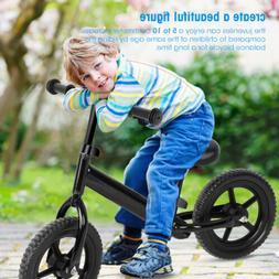"12"" Kids Balance Bike Classic No-Pedal Learn To Ride Pre Bik"