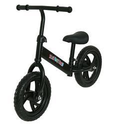 "12"" Kids Balance Bike No-Pedal Learn to Ride Pre Bike Classi"
