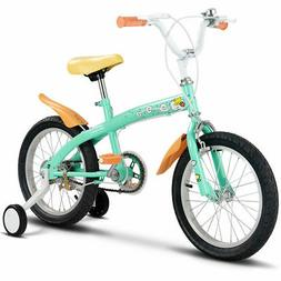 "12"" Kids Bicycle Bike Outdoor Sports With Training Wheels Be"