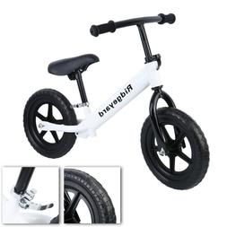 "Ridgeyard 12"" Kids Children Balance Bike Classic No-Pedal Le"