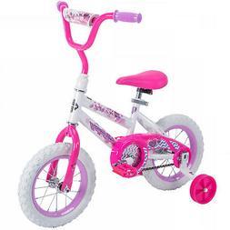 Huffy 12 Sea Star Bike For Girls Single Speed W/ Coaster Bra