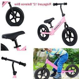 "12"" Sport Kids Balance Bike No-Pedal Learn To Ride Pre Bicyc"