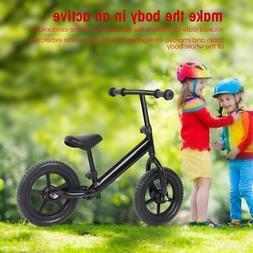12 inch round carbon steel children's balance bike without p