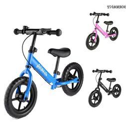 12inch Kids Balance Bike No-Pedal Learn To Ride Pre Bike w/