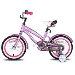 Hiland 14 & 16 Inch Cruiser Kids Bike for Girls & Boys with