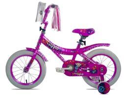 "Kent 14"" Girl's Giggles Bike Pink Training Wheels Fenders St"