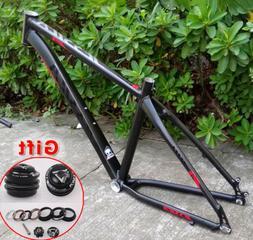 "16"" 17"" Ultralight Aluminum alloy MTB Bicycle Frames 26er Mo"
