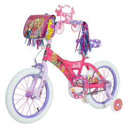 "Dynacraft, 16"" Barbie Bike for Girls, Pink"