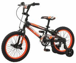 "16"" Boys Bike Mongoose Mutant Boys' Bicycle, Black & Orange"