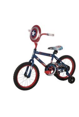 """16"""" Huffy Boys' Marvel Captain America Bike"""