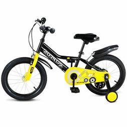 "16"" Children Kids Bike Boy Girl Bicycle Training Wheels Todd"