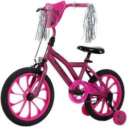 "Huffy 16"" Flashfire Girls' Bike for Kids, Purple / Pink"