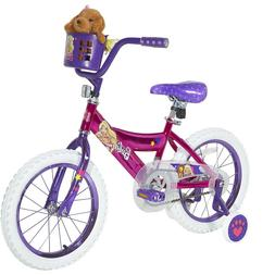 "16"" Girls' Barbie Bike by Dynacraft with Training wheels Kid"