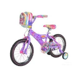 "TROLLS 16"" GIRLS BIKE, PURPLE *DISTRESSED PKG"