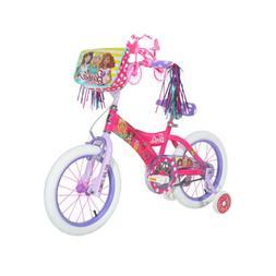 Dynacraft 16 in Girl Barbie Sweet Bike Streamers Pink Purple