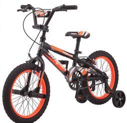 16 Inch Mongoose Orange Bike Gift for Kids Child Bicycle Boy