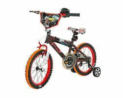 "16"" Bike - Dynacraft, Hot Wheels, Black, Red, with Training"