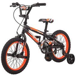 "16"" Mongoose Mutant Boys' Bicycle, Black Orange***FREE SHIPP"