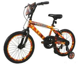 "DYNACRAFT 18"" BOYS FIRESTORM BIKE *DISTRESSED PKG*"