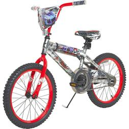 "18"" Boys Hot Wheels Bike with Rev' Grip Kids Bicycle Asjusta"