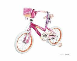 "18"" Dynacraft Girls Mysterious Bike with Handlebar bag and S"
