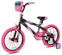 "Kent 18"" Girls' Sparkles Adjustable BMX Handlebars Two-Wheel"