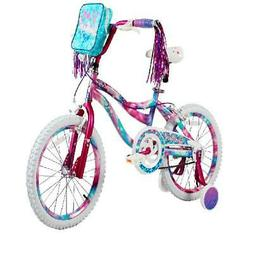 "Dynacraft 18"" Girls Sweetheart Bike, Pink/ Blue, Training Wh"
