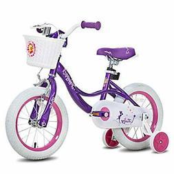 JOYSTAR 18 Inch Kids Bike for Girls Child Bicycle for 5 6 7