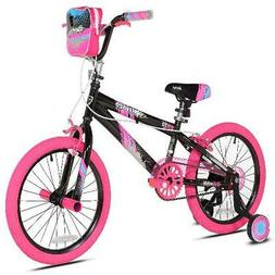 Bikes for Girls 18 Inch Kent Girl Bicycle Pink /Black Kid Ch