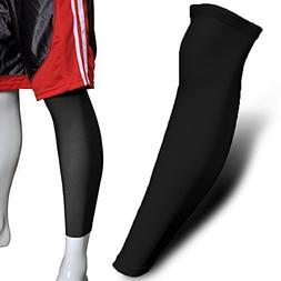 1PCS Sport Football Basketball Cycling Strech Leg Knee Long