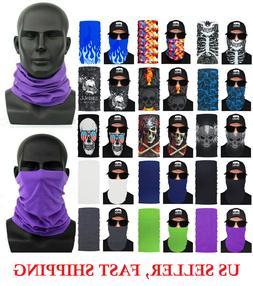 1pc Face Mask Sun Shield Neck Gaiter Bike Balaclava Neckerch