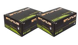 2 PACK - Tube, 27 x 1-1/4 32mm SCHRADER Valve, Sunlite