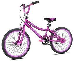 """20"""" Kent 2 Cool BMX Girls Bike Age: 8 to 12 Years, Satin Pur"""