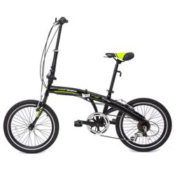 "20""  7 Speeds Mini Folding Bike Bicycle Fold Storage Shimano"