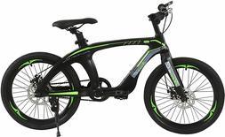 "NiceC 20"" BMX Bike, Mountain Bike, Cycle Bicycle with Dual D"