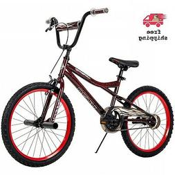 """Huffy 20""""  BMX-Style Boys Bike For Kids Ages 5 to adult  Red"""