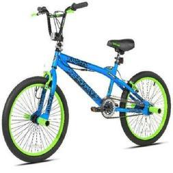 "KENT 20"" BOY'S TRANSFER FREESTYLE BIKE BLUE/GREEN"