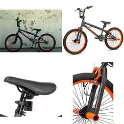 "Kent 20"" Boys', Chaos Bike, Matte Gray/Orange, For Height Si"