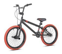 "Kent 20"" Dread Boy's BMX Bike, Black/Red. Brand new in Box."