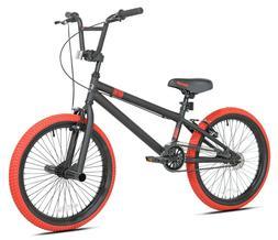 "Kent 20"" Dread Boy's BMX Bike, Black/Red"