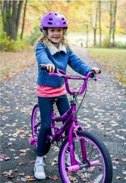 Kent 20 Inch BMX Bike Satin Purple Girls Adjustable Seat Kic