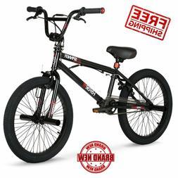 20 inch Hyper Spinner Gloss Black BMX Bike