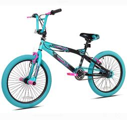 "20"" Kid Girls Bike BMX Freestyle Bicycle Outdoor Cycling Spo"